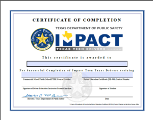 impact texas young drivers answers